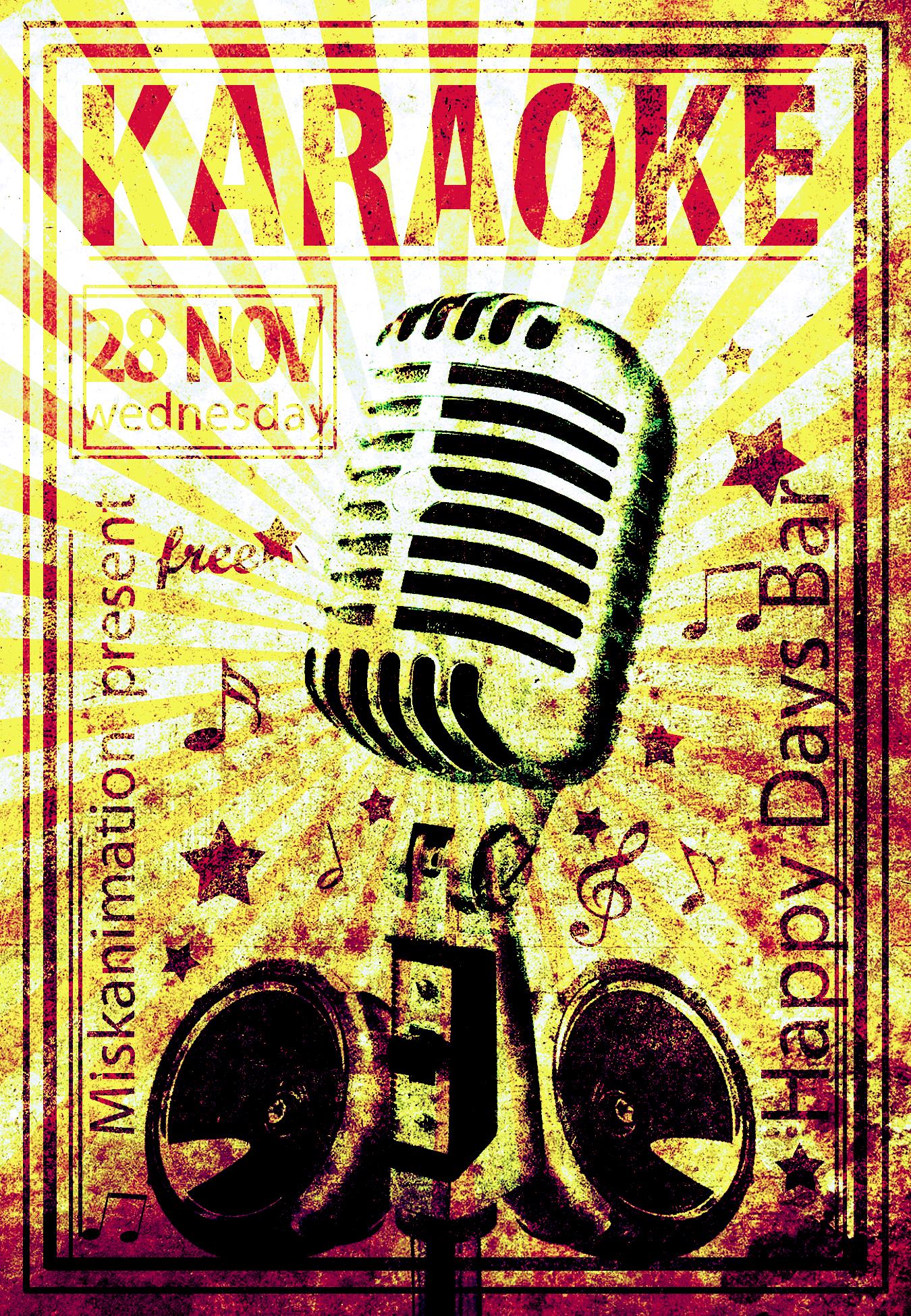 karaoke-happy-days-flyer-1l